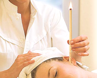 Thermo Auricular Candling or Hopi Ear Candling